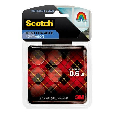 Scotch 18ct Restickable Mounting Dots