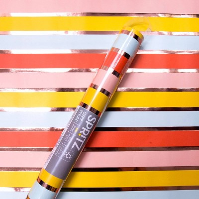 Coral Striped Wrapping Paper - Spritz™