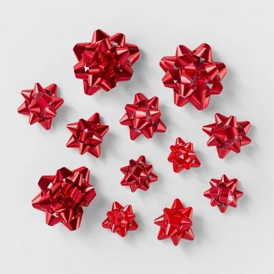 40ct Gift Bow Bag Red - Wondershop™