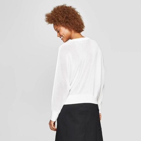 16dd1e581ad2 Women s Long Sleeve Crewneck Pullover Sweater - Prologue™   Target