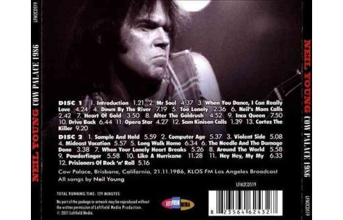Neil Young - Cow Palace 1986 (CD) - image 1 of 1
