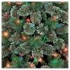 7.5ft Pre-lit Artificial Christmas Tree Slim Virginia Pine Multicolored Lights - Wondershop™ - image 2 of 4