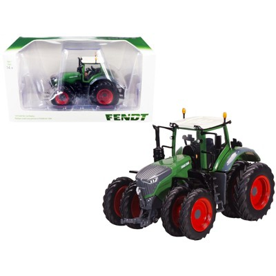 Fendt 1050 Tractor with Dual Wheels Green and Gray with White Top 1/64 Diecast Model by SpecCast