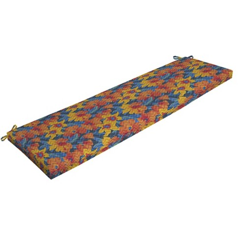 DriWeave Disco Floral Outdoor Bench Cushion - Arden - image 1 of 2
