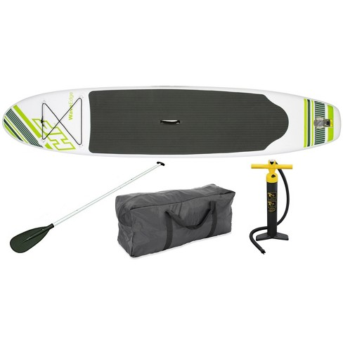 """Bestway Inflatable Hydro Force Wave Edge 122"""" x 27"""" Stand Up Paddle Board, Green - image 1 of 4"""