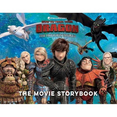 How to Train Your Dragon the Hidden World the Movie Storybook -  by Various (Paperback)