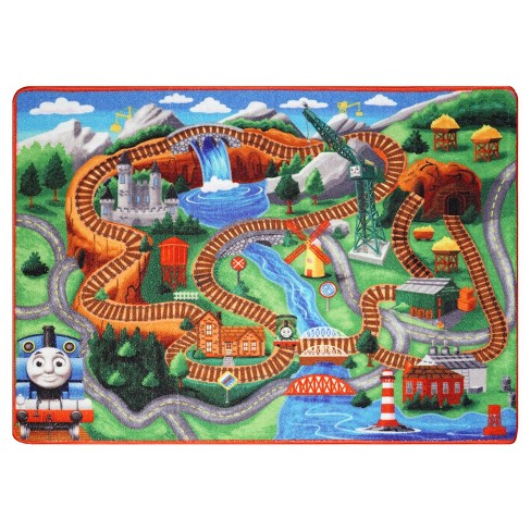 Thomas & Friends Rug (5'x7') - image 1 of 3