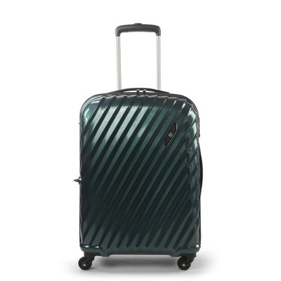 """FUL Marquise Series 25"""" Hardside Spinner Suitcase - Teal"""