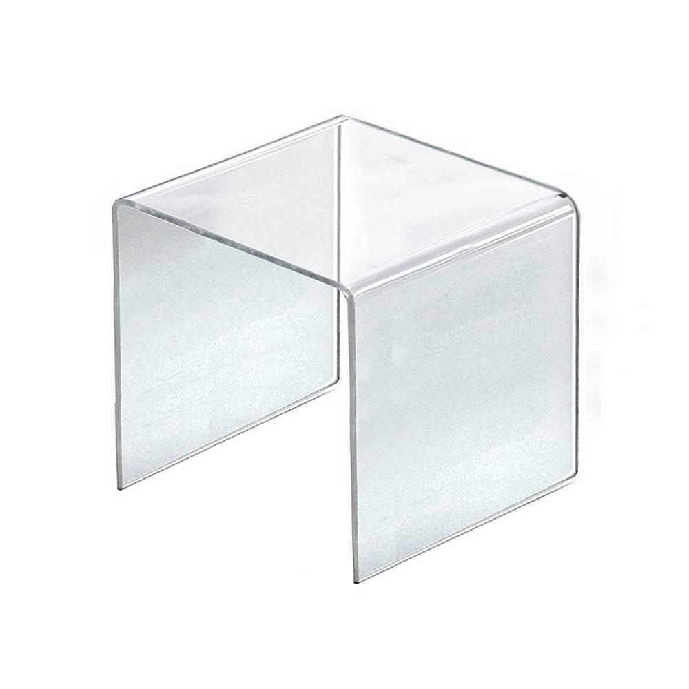 Azar Displays 9 5 4pk Acrylic Riser Display Square
