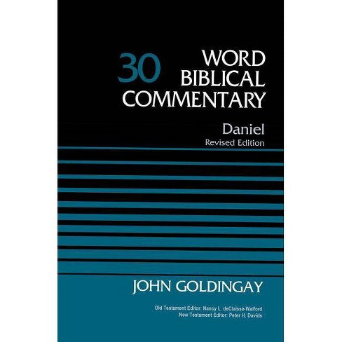 Daniel, Volume 30 - (Word Biblical Commentary) by  John Goldingay (Hardcover) - image 1 of 1
