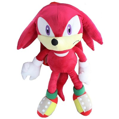 Accessory Innovations Company Sonic the Hedgehog Knuckles 18 Inch Plush Backpack