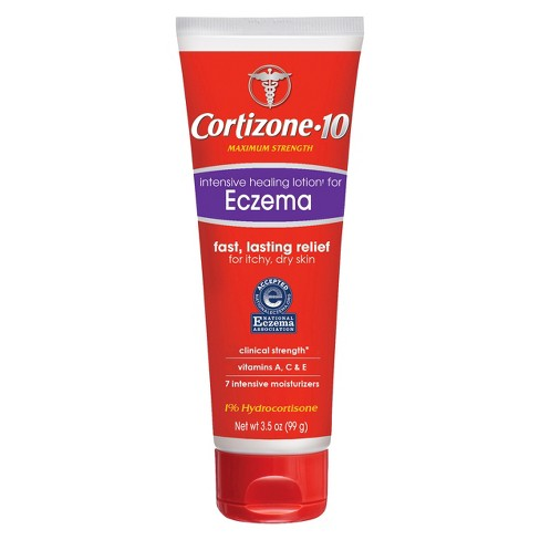 Cortizone 10 Intensive Healing Lotion for Eczema Itchy and Dry Skin - 3.5oz - image 1 of 4