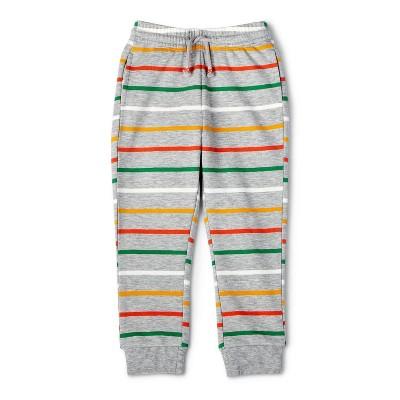 Toddler Striped Jogger Pants - Christian Robinson x Target Gray