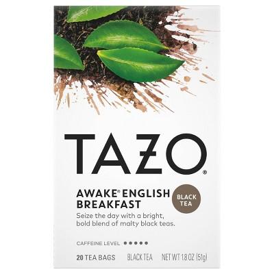 Tazo Awake English Breakfast Tea - 20ct