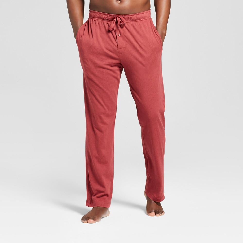 Men's Knit Pajama Pants - Goodfellow & Co Dark Red XL