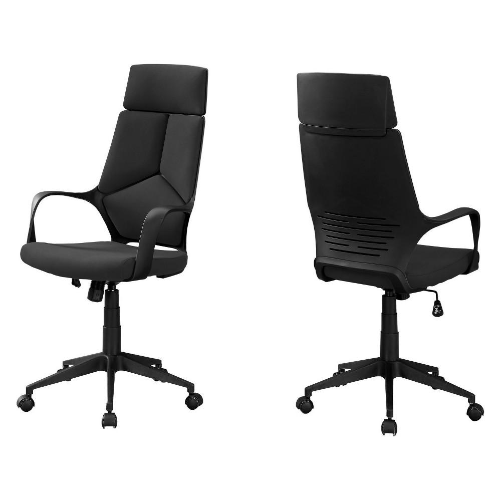Office Chair High Back Executive Black - EveryRoom