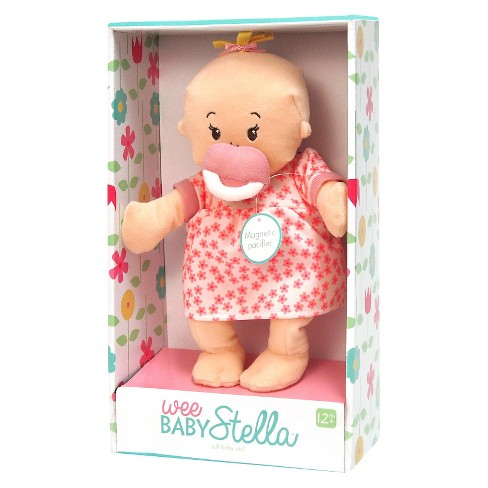 Wee Baby Stella Peach Doll - image 1 of 2