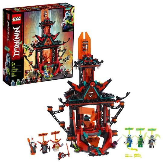 LEGO NINJAGO Empire Temple of Madness 71712 Ninja Temple Building Kit image number null
