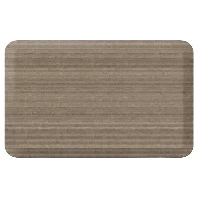 Newlife By Gelpro Designer Comfort Kitchen Mat - Grasscloth Pecan - 20X32
