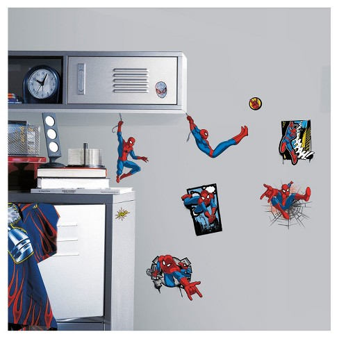 Marvel Spider-Man Peel & Stick Wall Decals - image 1 of 1
