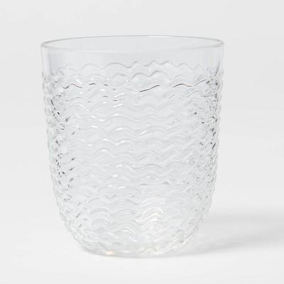 13oz Plastic Wave Texture Short Tumbler - Opalhouse™