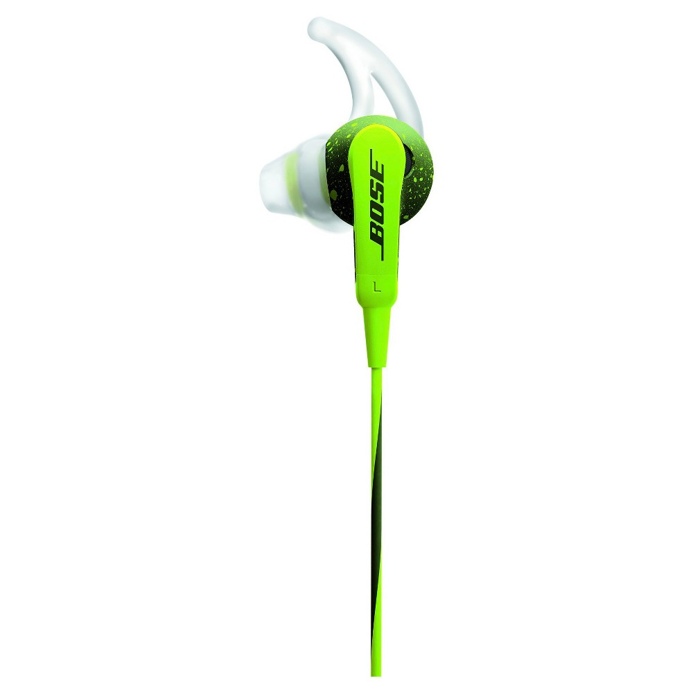 Bose SoundSport In-Ear Headphones (iOS)- Green