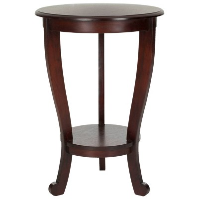 Bette Accent Table - Cherry - Safavieh