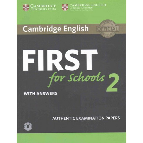 cambridge english first  Cambridge English First For Schools 2 With Answers : Authentic ...