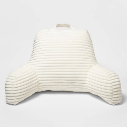Room Essentials™ Cut Plush Bed Rest Pillow  - image 1 of 4