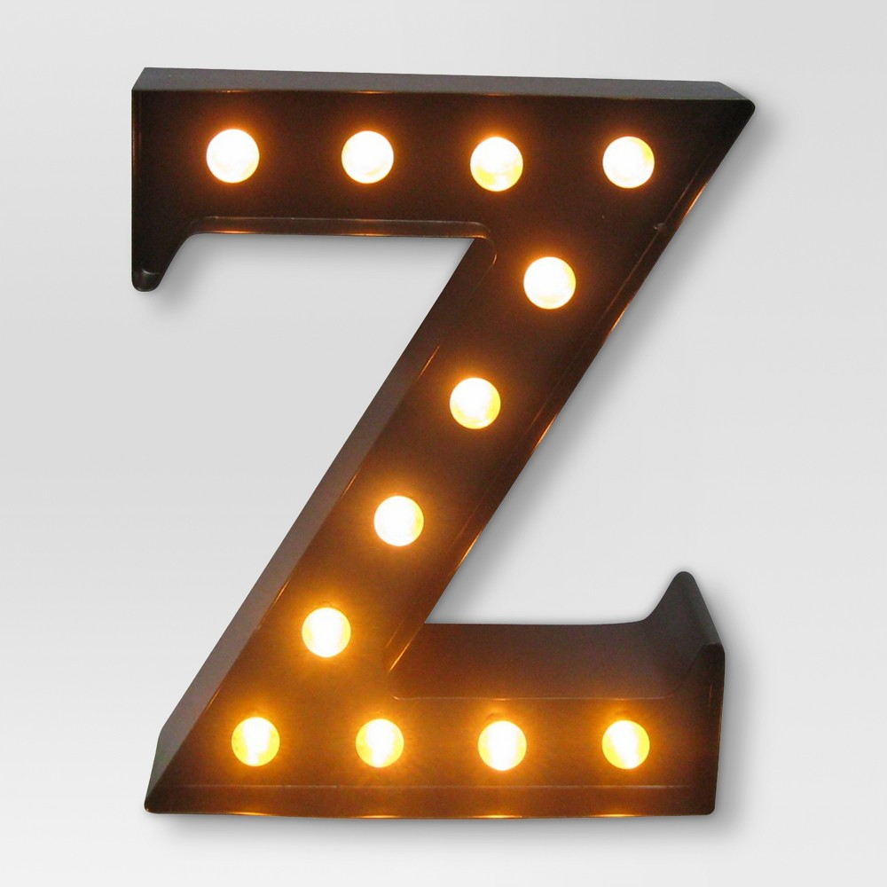Metal Marquee Letter Small