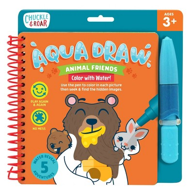 Chuckle & Roar Aqua Draw Animal Friends - Color With Water!