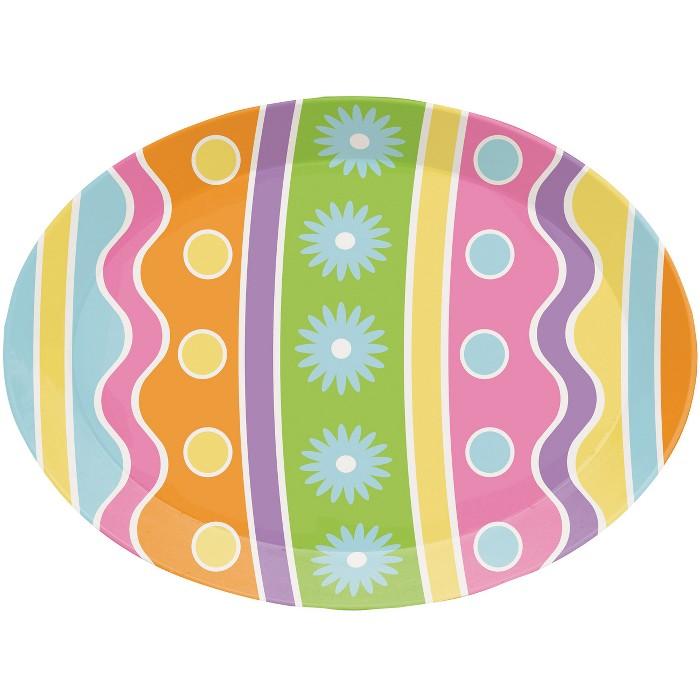 Easter Egg Plastic Disposable Serveware - image 1 of 1