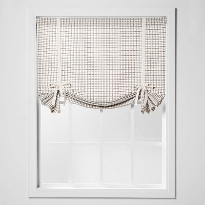 "63""x42"" Honeycomb Light Filtering Balloon Window Shade Gray - Threshold™"