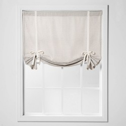 "42""x63"" Honeycomb Light Filtering Balloon Window Shade Gray - Threshold™"