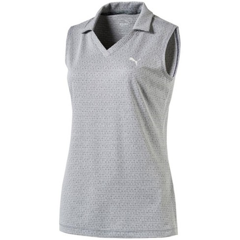 23d82ce3 Women's Puma Jacquard Sleeveless Golf Polo : Target