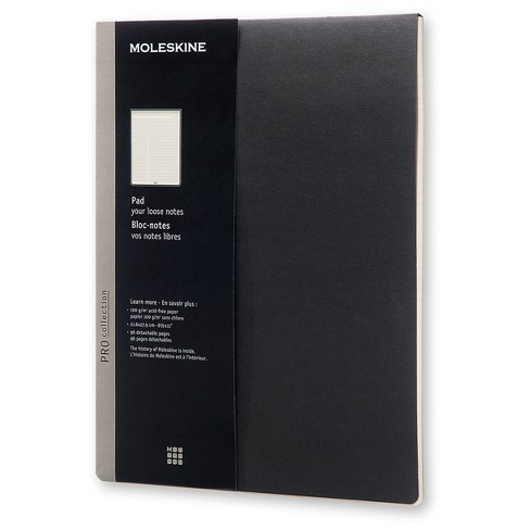 Moleskine™ Lined Professional Folio Pad - Black Softcover - image 1 of 3