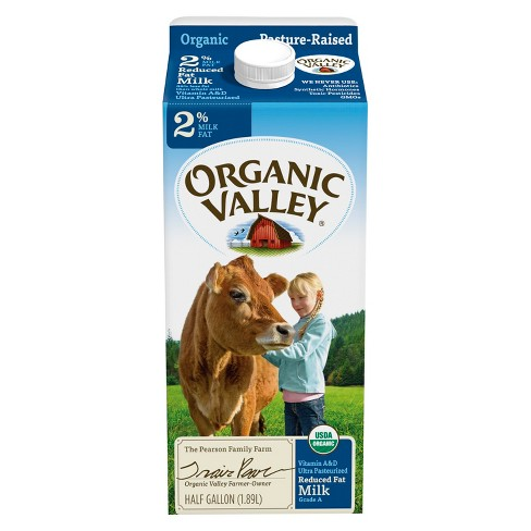 Organic Valley 2% Milk - 0.5gal - image 1 of 1