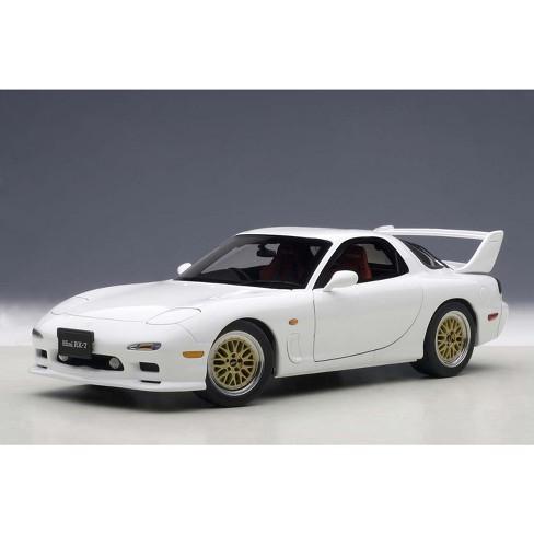 Mazda Rx7 Fd >> Mazda Rx 7 Fd Tuned Version Pure White 1 18 Diecast Model Car By Autoart