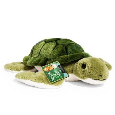 """FAO Schwarz Adopt A Wild Pal Endangered Sea Turtle - 15"""" Toy Plush"""