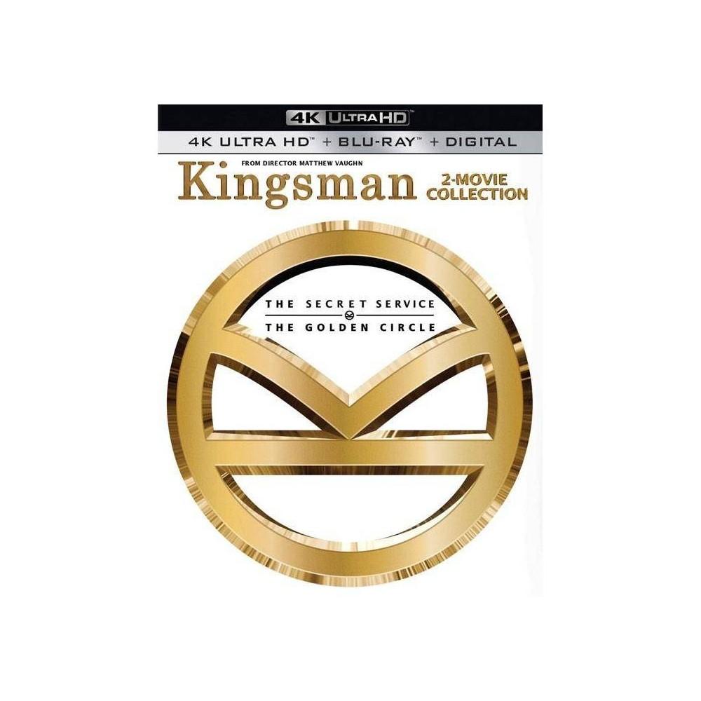 Kingsman 2 Movie Collection 4k Uhd
