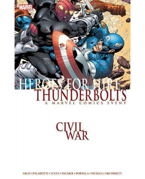 Civil War : Heroes for Hire / Thunderbolts (Paperback) (Justin Gray & Jimmy Palmiotti & Fabian Nicieza) - image 1 of 1