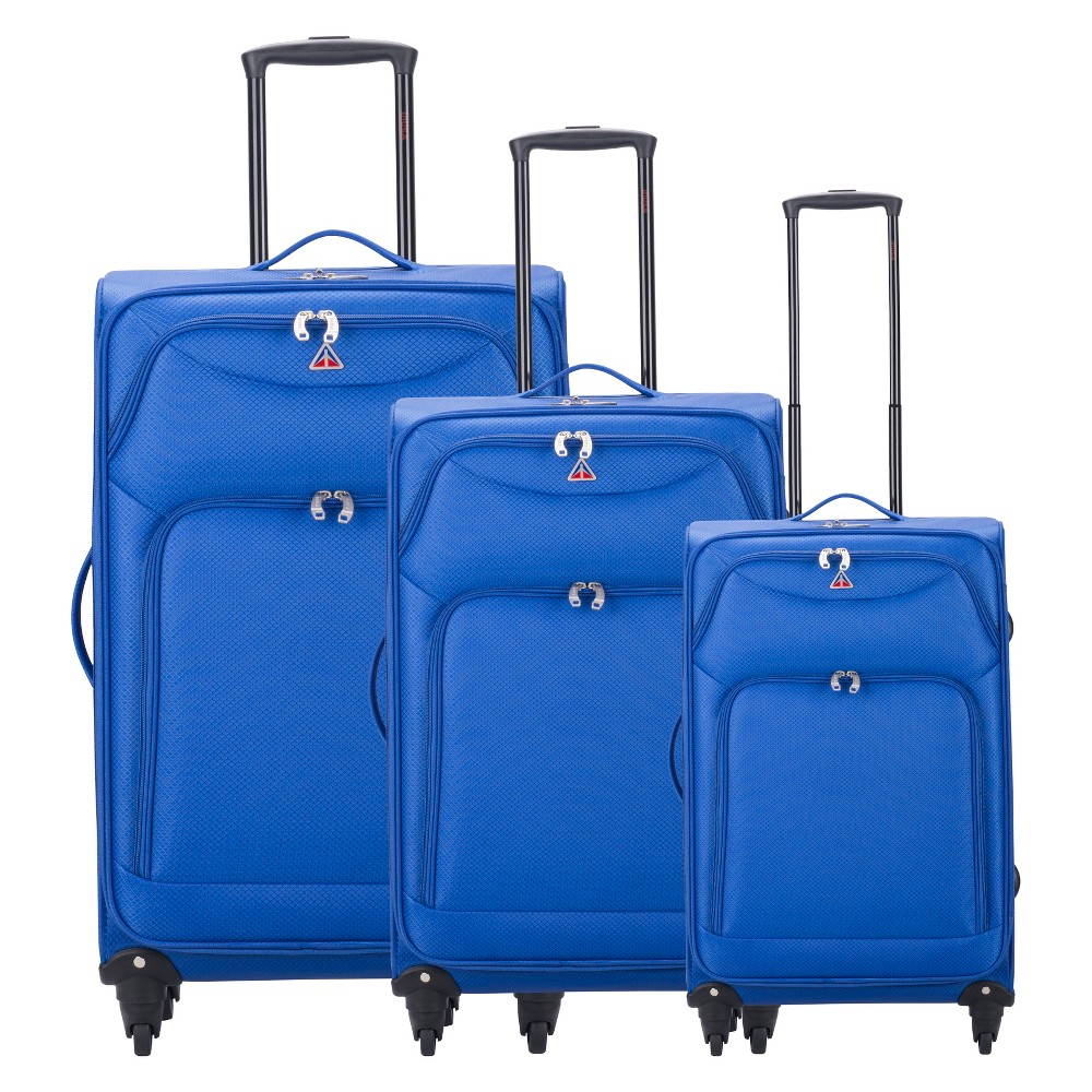 InUSA Light-Fi 3pc Spinner Luggage Set 20& 24