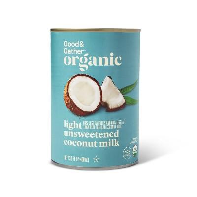 Organic Light Coconut Milk - 13.5oz - Good & Gather™