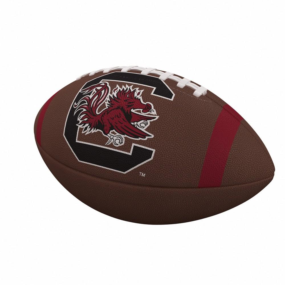 NCAA South Carolina Gamecocks Team Stripe Official-Size Composite Football