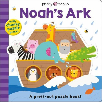 Puzzle and Play: Noah's Ark - (Puzzle & Play, 1)by Roger Priddy (Board Book)