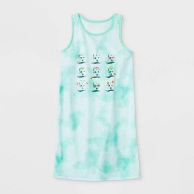 Girls' Hamster Nightgown - Cat & Jack™ Green