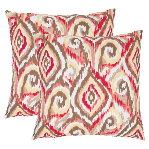 Brown Bardot S/2 Throw Pillow - Safavieh® - image 1 of 3