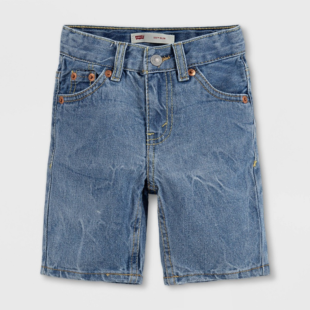Levi 39 S 174 Toddler Boys 39 Unbasic 511 Jean Shorts Light Wash 4t