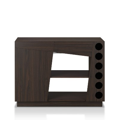 Karly Wine Cabinet Red Brown - miBasics