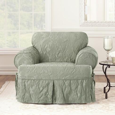 Matelasse Damask T Chair Sure Fit Target